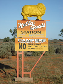 Golden Fleece Sign